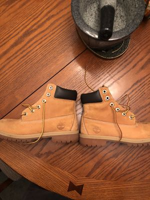 Women's size 5 Timberland Boots, Wheat, Used, No Box for Sale in Atlanta, GA