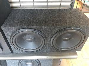 Rockford fosgate car audio for Sale in Phoenix, AZ
