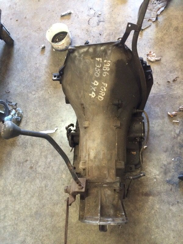 c6 transmission 4x4 big block