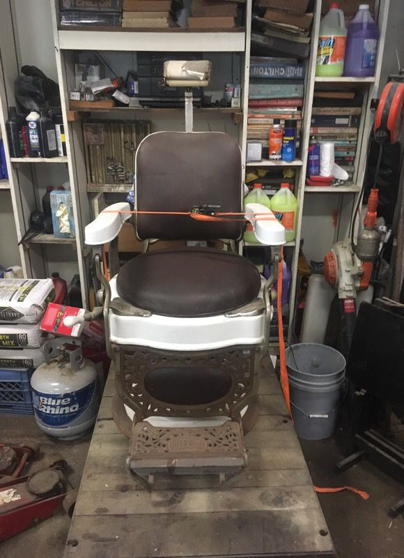 Antique barber's chair - Antique Barber's Chair For Sale In Verona, PA - OfferUp