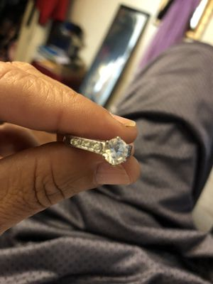 Cz in silver setting size 9 for Sale in Tampa, FL