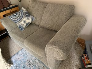 Incredible New And Used Loveseat For Sale In Kirkland Wa Offerup Squirreltailoven Fun Painted Chair Ideas Images Squirreltailovenorg