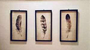Feather paintings for Sale in Washington, DC