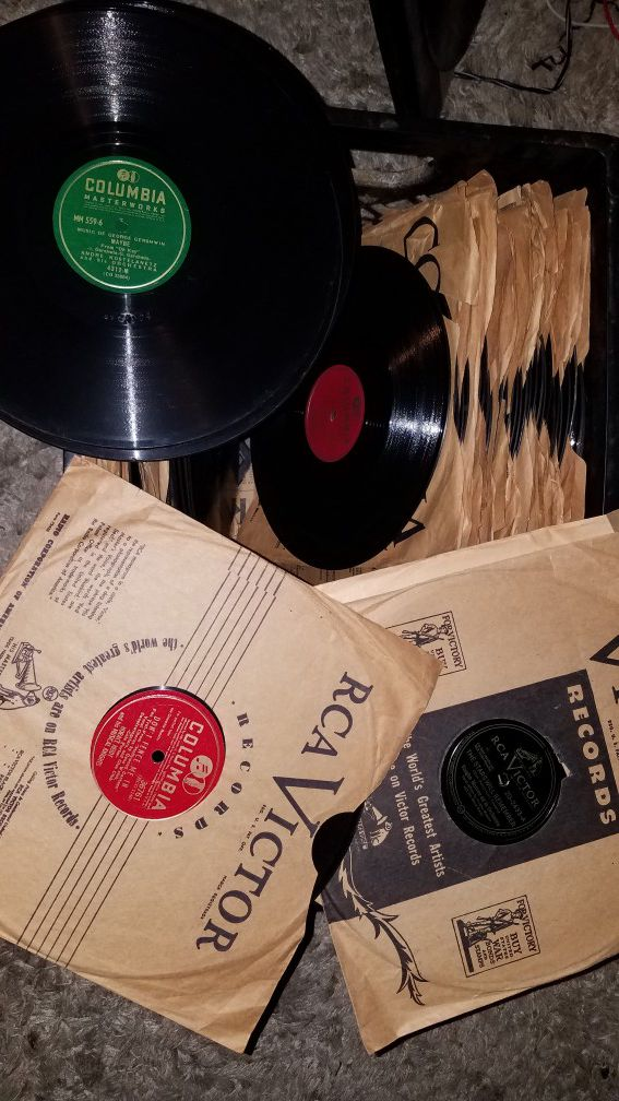 65 1940s 78 Rpm 10 Vinyl Records For Sale In Riverside CA
