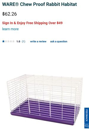 Rabbit cage for sale  Stillwater, OK