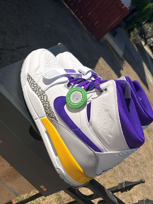 a310b01292f7 Air Jordan legacy 312 lakers for Sale in City of Industry