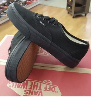 1ababefbbb0 Black black Vans authentic classic original 💯 Spring Valley Swapmeet on  Saturday Sunday for Sale in