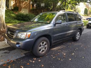 2005 Toyota Highlander w/3rd Row - 107K miles for Sale in Bethesda, MD