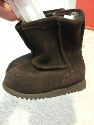 Size 2 Brown Baby Boots for Sale in Spanaway, WA