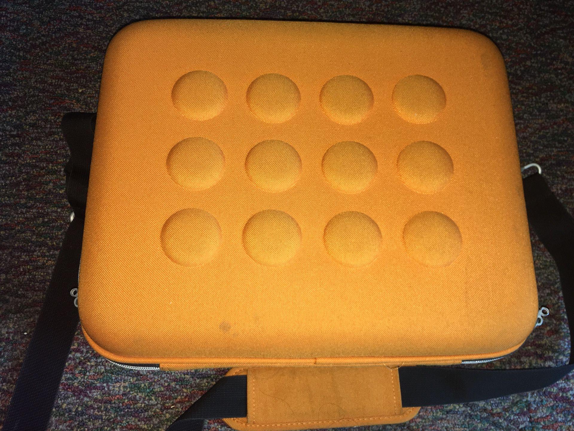 Rugged Orange Laptop Case