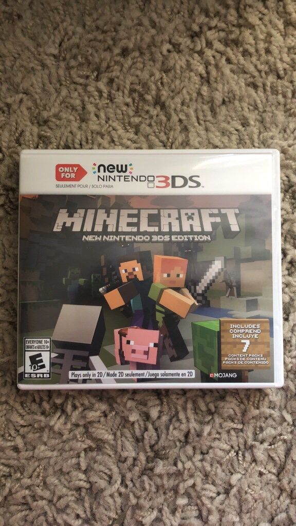 Minecraft Nintendo DS Game For Sale In Gulfport MS OfferUp - Minecraft spiele fur nintendo ds