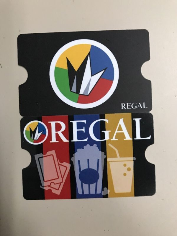 Regal Cinemas Gift Card Tickets In Hyde Park Ma Offerup
