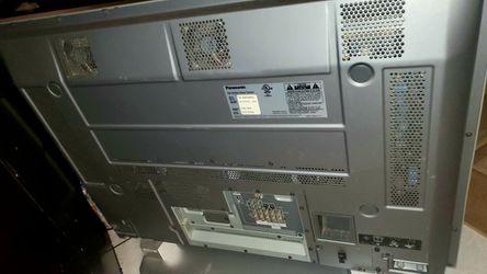 Panasonic Grey Flat Screen TV Plasma Thumbnail