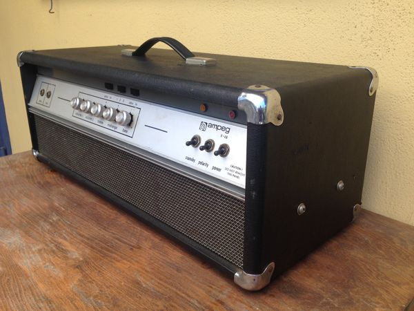Vintage Ampeg V4B all tube bass amplifier for Sale in Claremont, CA -  OfferUp