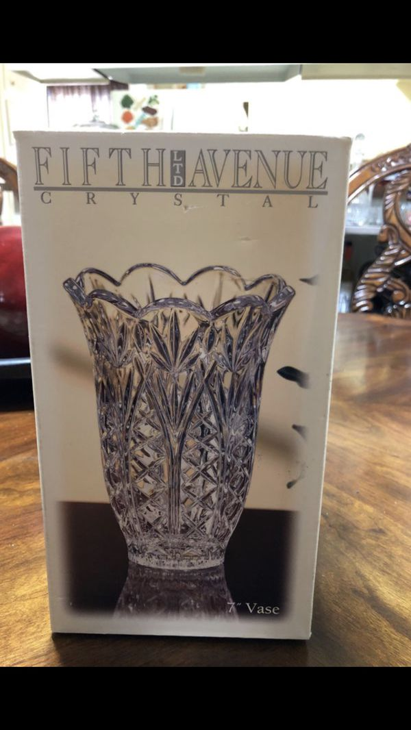 Fifth Avenue Crystal Vase Set For Sale In Paramount Ca Offerup