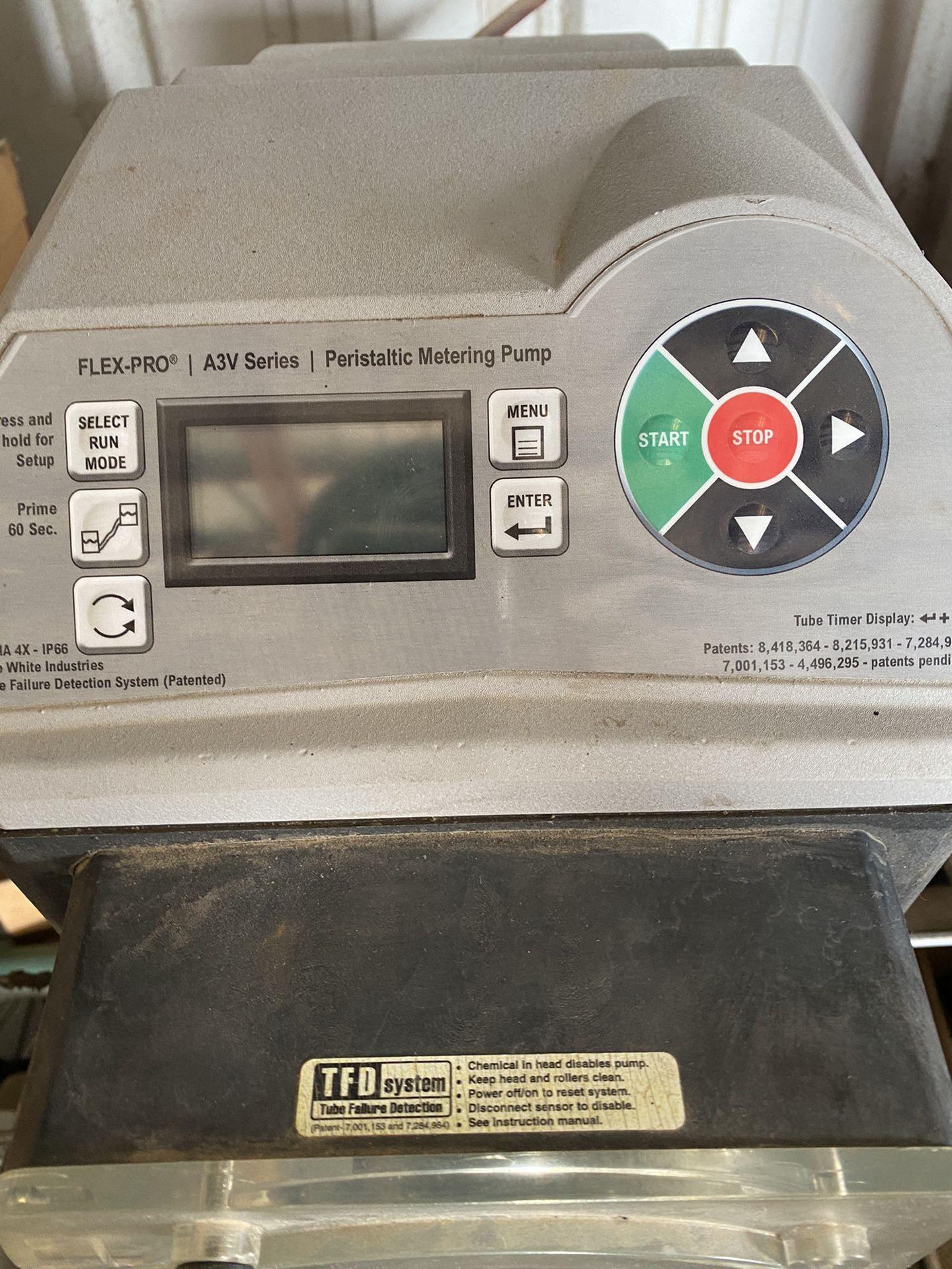 Flex pro Av3 series metering pump