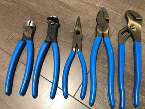 Photo 5 pcs. channellock hand tools brand new