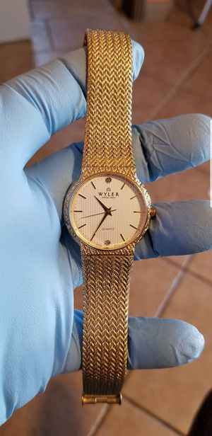 Authentic WYLER MENS WATCH. for Sale in Hesperia, CA