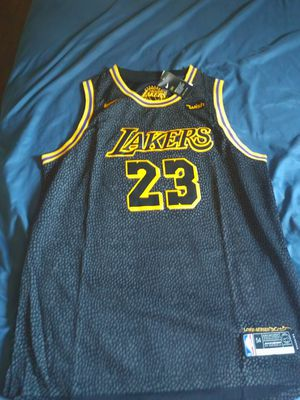 a946f33649e7 Lakers Lebron James jersey for Sale in San Bernardino