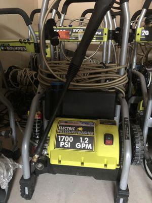 Ryobi pressure washer electric for Sale in Richardson, TX