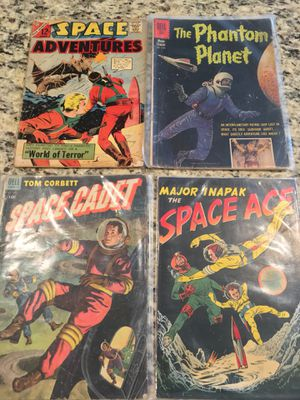 Lot of 4 1950/1960 Sci Fi/Space Comic Books for Sale in Ashburn, VA