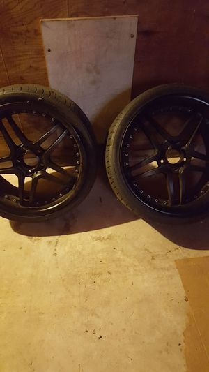 Staggered 19 inch wheels for Sale in Emporia, VA