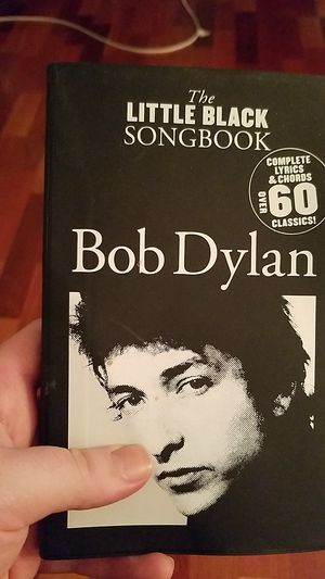 Bon Dylan song book for Sale in Philadelphia, PA