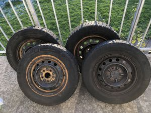 195/70 r14 Snow tires with rims for Sale in Centreville, VA