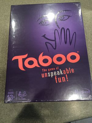 Taboo board game for Sale in Fort Washington, MD