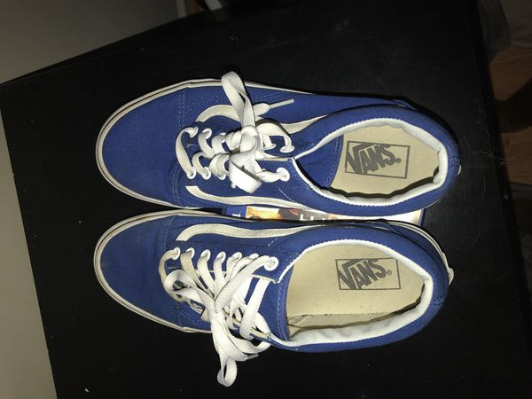 d35354fa63f1 Blue low vans Vnds 40  for Sale in Concord