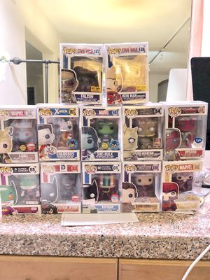 Funko marvel dc pop LOT discounted for Sale in Los Angeles, CA