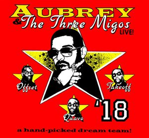 Aubrey drake migos concert 10/17 1 floor GA ticket for Sale in Inglewood, CA