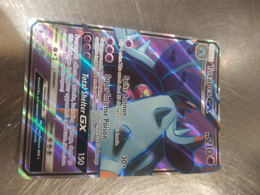If you are a Pokemon player this is a great card all I want is 200recently sold it for 400