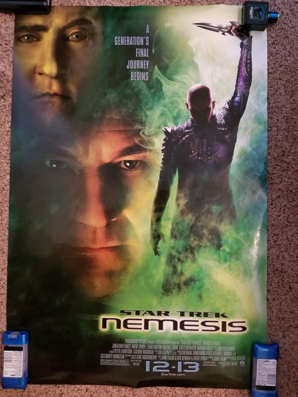 Star Trek: Nemesis official movie theater backlit poster for Sale in St   Cloud, MN - OfferUp