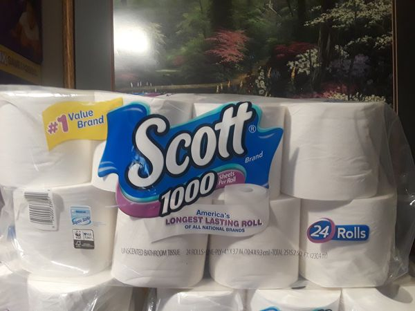 Scott Toilet Paper 24 Rolls For Sale In Pomona Ca Offerup