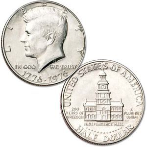John f Kennedy 1976 half dollar rare coin asking 40 for it for Sale in Altamonte Springs, FL
