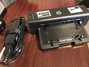 HP docking station for Sale in Dallas, TX