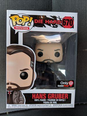 Die Hard Hans Gruber GameStop Exclusive Funko Pop for Sale in Silver Spring, MD