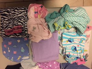 Assorted girls pj's. 10 pieces size 10-12 for Sale in Fairfax, VA