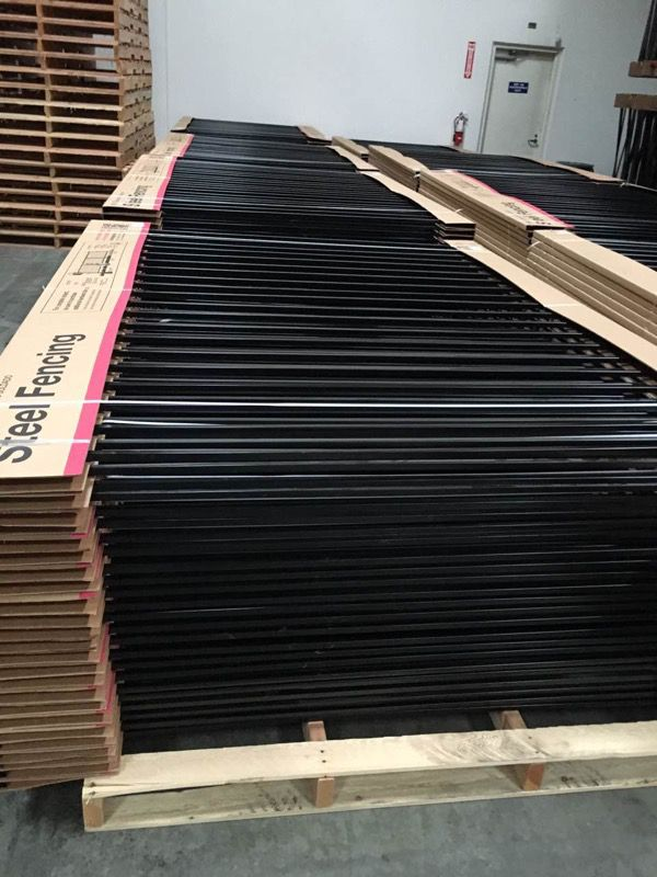 New Steel Fence Panel 3x8 For Sale In Los Angeles Ca Offerup