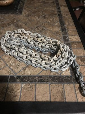 "Photo Windlass 1/4"" galv anchor chain - 15 feet"