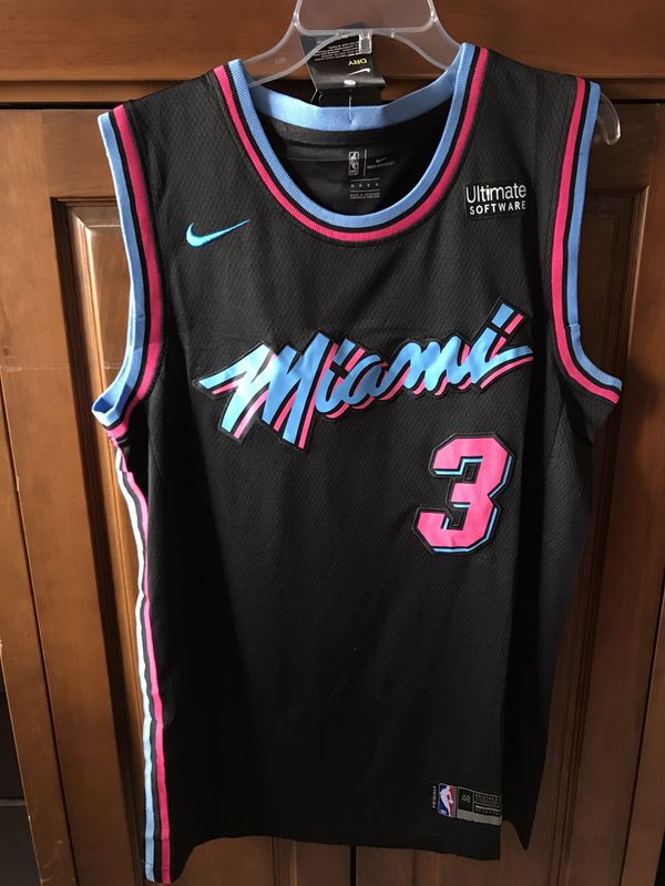 separation shoes cfa1b 25b89 Dwyane Wade Miami Heat Vice City black for Sale in Miami, FL - OfferUp