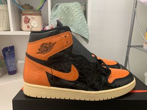 Photo Ds air Jordan shattered backboard 3.0 1s size 10.5