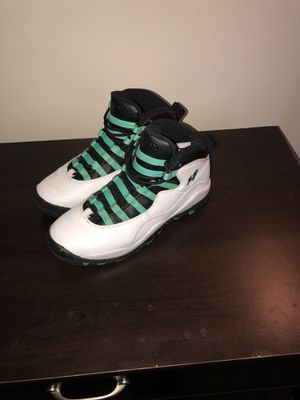 size 40 13d9e 3adc1 ... air jordan 10 retro verde bleached turquoise 2015 for sale in jackson ms