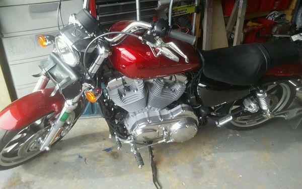 2012 harley davidson 883 super low