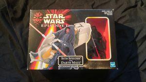 Star Wars Action Figure - Episode1 - Darth Maul w/Sith Speeder for Sale in Salt Lake City, UT