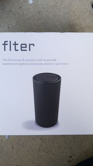 flter privacy & security router for Sale in Washington, DC