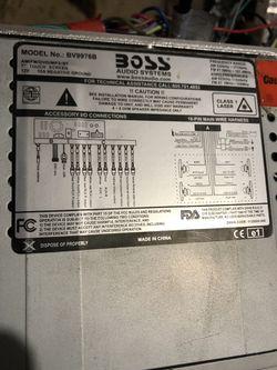 Boss bv9976b Thumbnail