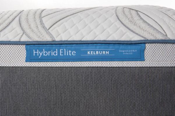 Eastern King Size Memoryfoam Sealy Posturepedic Hybrid Elite Kelburn Mattress Set With Boxsprings Same Day Delivery Available