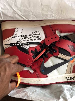 Off white Jordan 1 Chicago sz 9 ds for Sale in Edgewater, CO